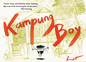 'Kampung Boy will put a smile on the face of everyone who reads it.' The Age