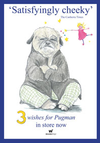 '3 wishes for Pugman' competition: send us your 3 wishes to win