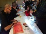 Davide Cali signing books at last weekend's CBCA conference