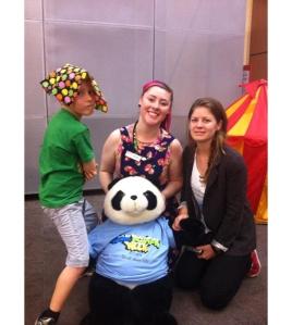 Social Inclusion Week Team (Owen, Emma SLV, Justine WF)